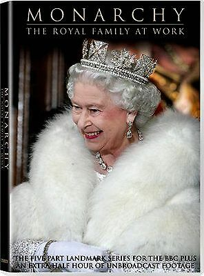 BBC VIDEO Monarchy-The Royal Family at Work(BRAND NEW 2DVD SET)5 PARTS/ 360 min.