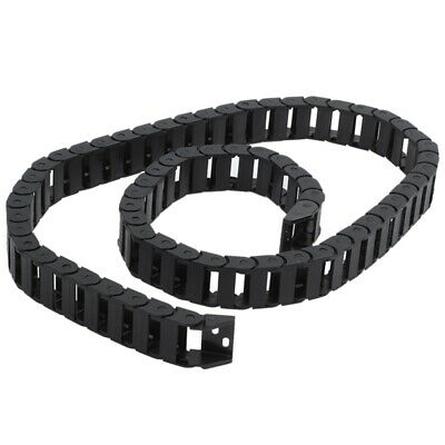 10 x 20mm 1M Open On Both Side Plastic Towline Cable Drag Chain AD