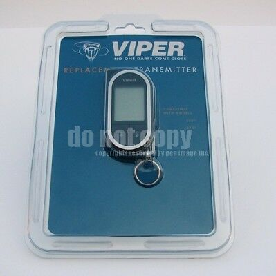 Viper 7752V 2-Way LCD Replacement Remote Transmitter for DEI 5901v 5704v