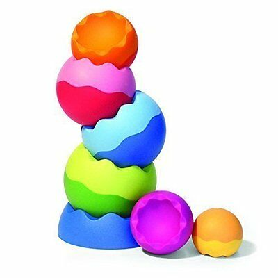 Fat Brain Toys Tobbles Neo Balancing Toy Stacking Baby Toys Learning & Education
