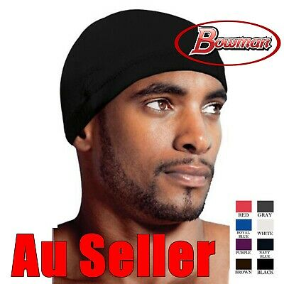 Spandex Dome Cap Helmet Chef  Sports Biker FootBall Beanie Hat Headwrap Durag