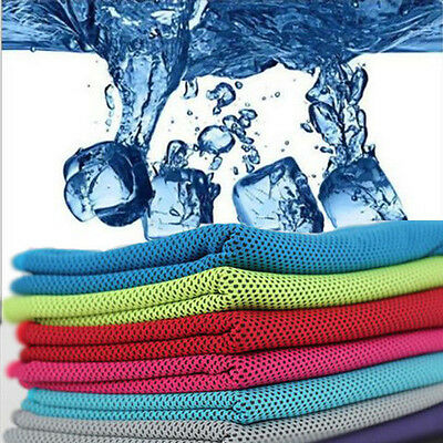 Enduring Ice Cold Running Jogging Gym Chilly Pad Instant Cooling Sport Towel Hot