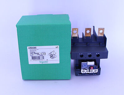 New Schneider thermal overload relay LRD4365 80-104A