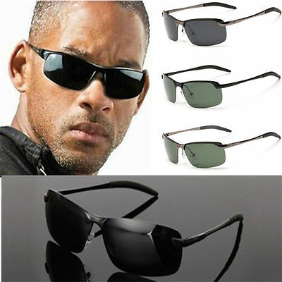 Mens Polarized Lens Driving Outdoor Sports Cycling Sunglasses Eyewear Glasses KY
