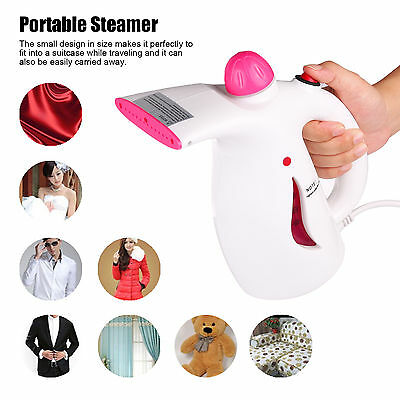 Pro Portable Steamer Fabric Clothes Garment Steam Iron Handheld For Home/ Travel