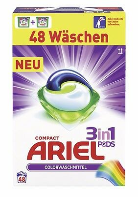 Ariel Compact 3in1 Pods Colour & Style Colorwaschmittel 1,4352kg - 48WL