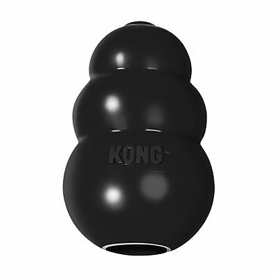 Kong Extreme Black Rubber Dog Chew Toy Treat Dispenser Small Medium Large XL XXL