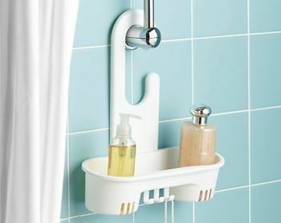 Hanging Shower Caddy Shelf Store Shampoo Holder Conditioner Organiser Tidy
