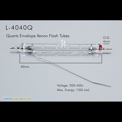 L4040Q Quartz Flash Tube Lamp IPL UV Flashtube Laser Light Pulsed Bulb Strobe