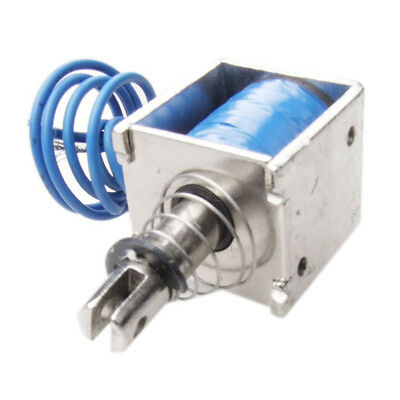 DC 12V 2A Pull Type Linear Solenoid Electromagnet 10mm 20N AD