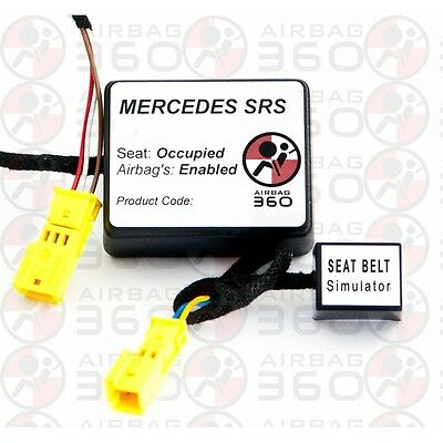 Mercedes Vito Viano SRS Passenger Airbag Seat Occupancy Recognition Sensor