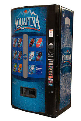 Vendo 601 Multi Price Soda Beverage Vending Machine w/ Aquafina Graphics