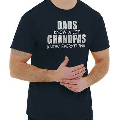 27c2d98e Grandpa Knows Everything Dad Shirt Greatest Father Day Gift T Shirt Tee For  Men
