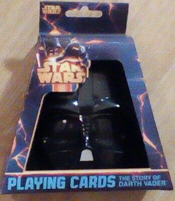 Star Wars Playing Cards Darth Vader Classic Movie Moments New Stocking Stuffer