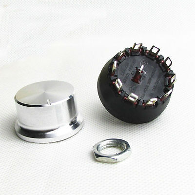 2-10 Position/Way Selector Rotary Switch With Knob