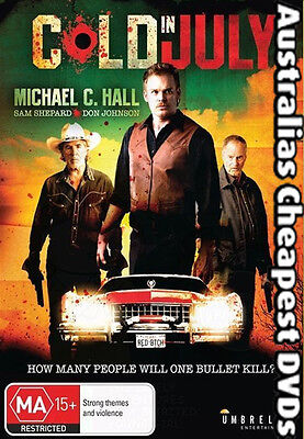 Cold In July DVD NEW, FREE POSTAGE WITHIN AUSTRALIA REGION 4