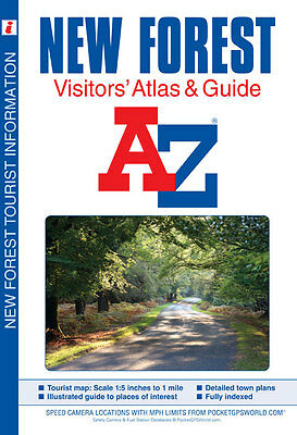 New Forest Visitors Atlas by Geographers' A-Z Map Co Ltd (Paperback)