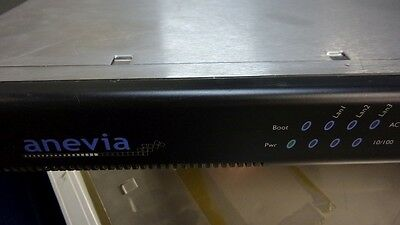 Anevia Flamingo 400A With 4 DVB-ASI Interfaces Input Channels