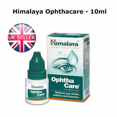 Himalaya Ophthacare Eye Drops Infections Conjunctivitis Like Brolene 10ml