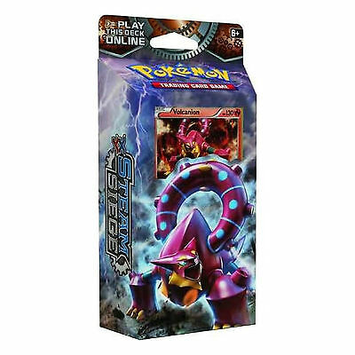 Pokemon XY Steam Siege Gears of Fire Volcanion Theme Deck: 60 Trading Cards XY11