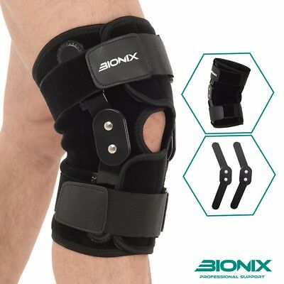 Bionix Neoprene Adjustable Hinged Knee Support Strap Pain Relief Brace NHS Use