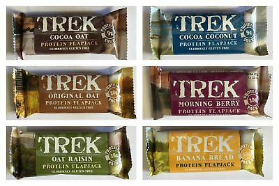 Trek Protein Flapjacks - Mixed Box of 16 Bars