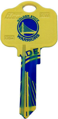 NBA GOLDEN STATE WARRIORS House Key Blank Kwikset KW1 Steph Curry