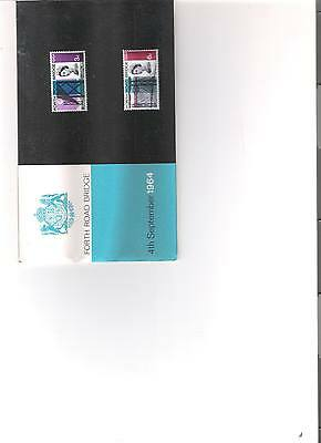 1964 Royal Mail Presentation Pack Forth Road Bridge Pre Decimal Mint Stamps