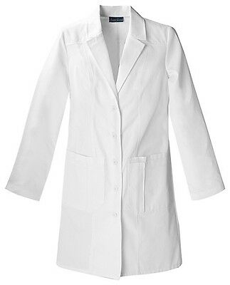 "Cherokee 36"" Lab Coat 2319 WHTC White Free Shipping"
