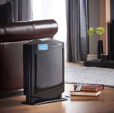 Hepa Air Purifier Helps with cigarette smoke pet odours pollen 4 filter system