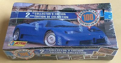 1992 Action/Panini Dream Cars 2nd Series Trading Cards Wax Box