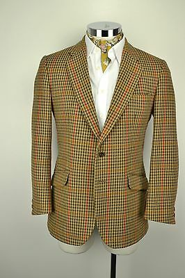 "BLADEN SAXONY TWEED JACKET 42"" Short Supasax 2 Button"