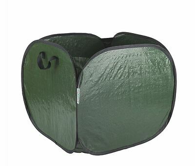 Reusable LARGE CAPACITY Garden Waste Bag SELF STANDING Green Sack WITH Handles