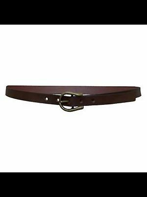 *NEW* Thomas Cook Women's 20mm Width Horsehoe Buckle Belt Western Country