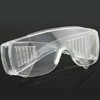 Vented Safety Goggles Glasses Eye Protection Protective Lab Anti Fog Clear 1 Pcs