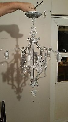 Antique Metal Chandelier