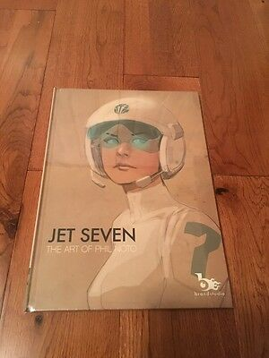Jet Seven Hard Cover Art By Phil Noto HTF New Limited Book