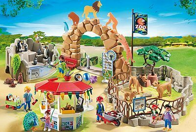 Playmobil 6634 City Life Large City Zoo Made in Germany