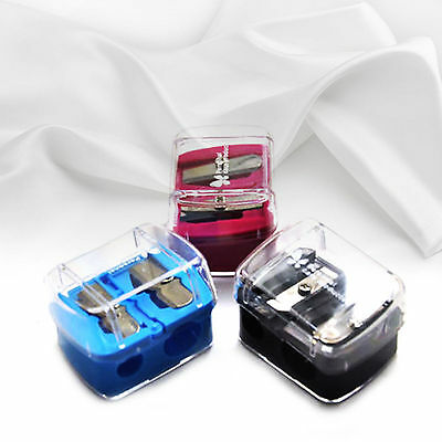 Jumbo & Regular Holes Cosmetic Makeup Pencil Sharpener For Lip Eye Liner Eyebrow