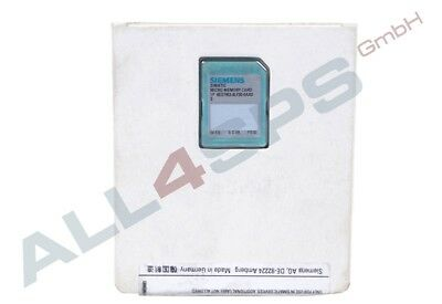 Simatic S7, Micro Memory Card Fuer S7-300/C7/Et 200, 3,3, 6Es7953-8Lf30-0Aa0 Ovp