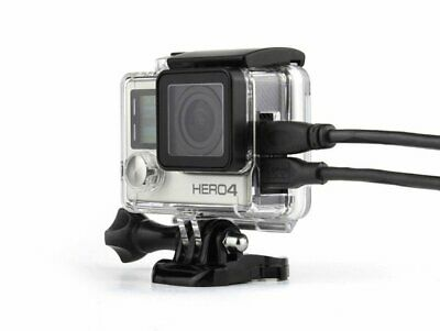 Skeleton Housing for GoPro HERO3/3+/4 open side for cable entry | NOT waterproof