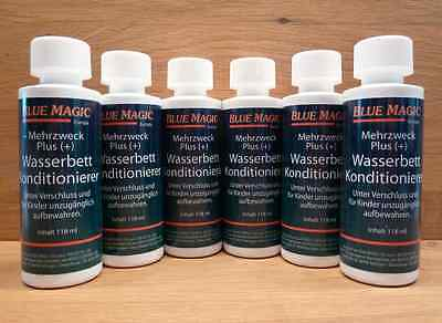(1L/17,94€) 6 Blue Magic Konditionierer kl.,Wasserbett,Pflegemittel,Conditioner#