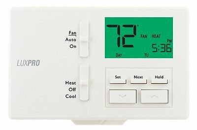 LuxPro Programmable or Non-Programmable Thermostat -P711 (case/10)