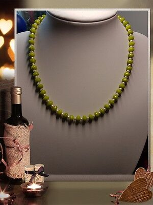 Unique Natural Green Peridot Beaded Handmade Necklace Jewellery @ Jay Wolfe