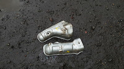 Nissan Elgrand E51 Genuine Heat Shield Manifold Exhaust Covers Pair