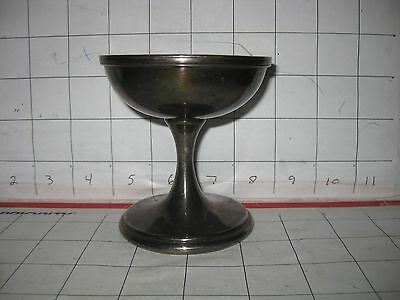 International Silver Co. SS Massachusetts Parfait Champagne Cup Silver Soldered