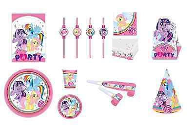My Little Pony Rainbow Sparkle Birthday Party Tableware Choose Required Item