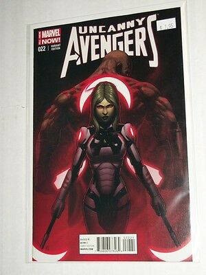 Marvel UNCANNY AVENGERS #22 Guardians Of The Galaxy 1:15 Variant