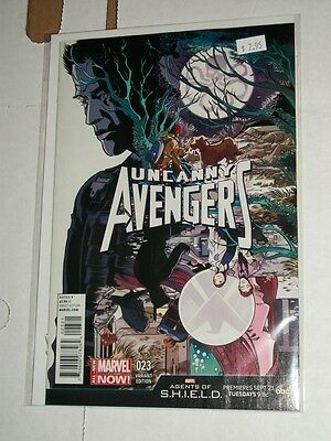 Marvel UNCANNY AVENGERS #23 Agents of SHIELD Variant