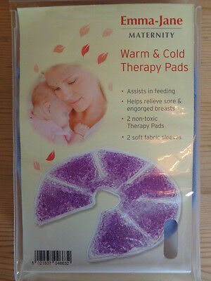Emma Jane Maternity Nursing Breastfeeding Soothing Therapy Pads Stimulate Milk